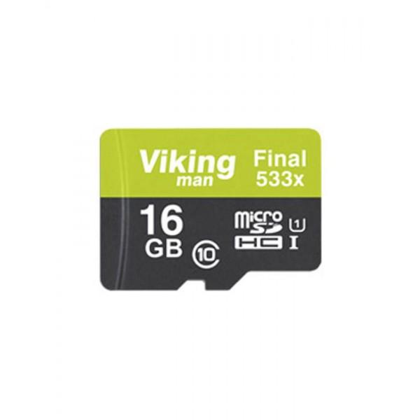کارت حافظه میکرو اس دی 16 گیگابایت VikingMan Final 533x UHS-l U1