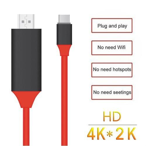 کابل HDMI تایپ سی برای اتصال به تلویزیون و نمایشگر(کابل Type C به HDTV)