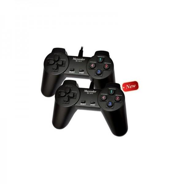 دسته بازی دوبل ساده مکسیدر Maxeeder MX-0213