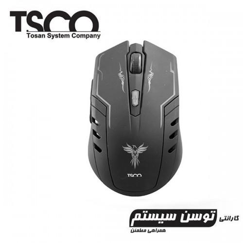 موس گیمینگ بی سيم Tsco مدل TM 614w
