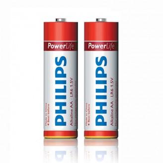 باتری قلمی فیلیپس مدل PHILIPS Power Alkaline AA