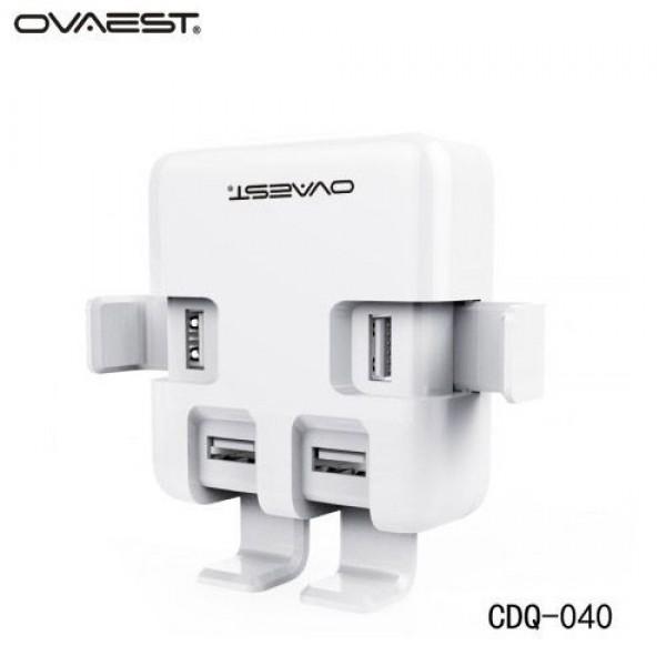 هاب شارژر 4 پورت یو اس بی اوست Ovaest CDQ-040