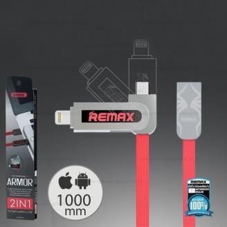 کابل دو کاره ریمکس مدل Remax RC-067t Armor