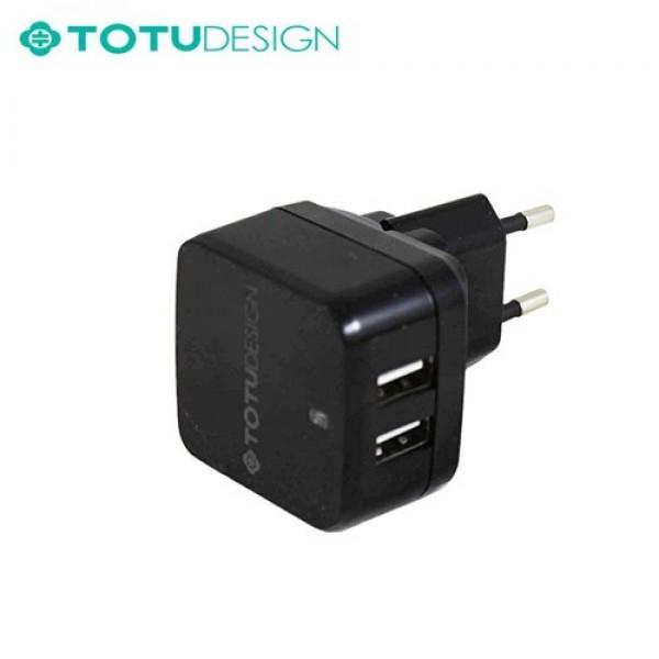 آداپتور شارژر 3.4 آمپر مارک توتو TOTU Smart IC Card