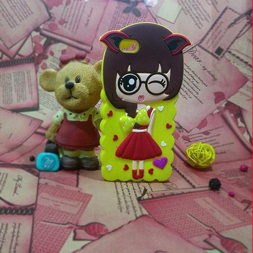 کاور عروسکی سه بعدی مناسب برای Apple iPhone 6-6s