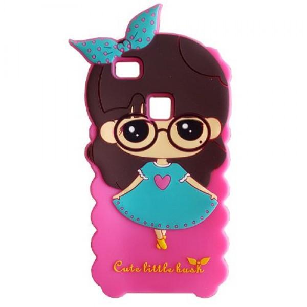 کاور عروسکی سه بعدی مناسب برای Huawei Ascend P9