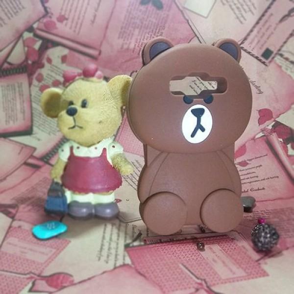 کاور عروسکی سه بعدی مناسب برای Samsung Galaxy Core Prime