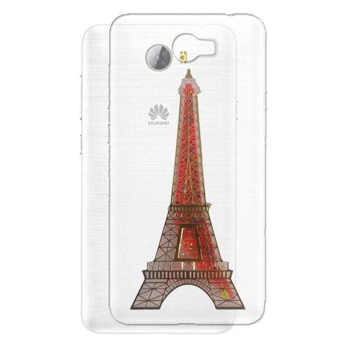 کاور آکواریومی طرح پاریس مناسب برای Huawei Ascend Y5 II