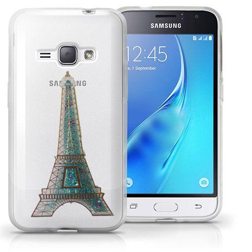 کاور آکواریومی طرح پاریس مناسب برای Samsung Galaxy J1 Ace