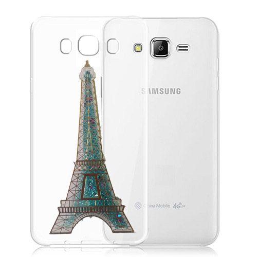 کاور آکواریومی طرح پاریس مناسب برای Samsung Galaxy J5 2016
