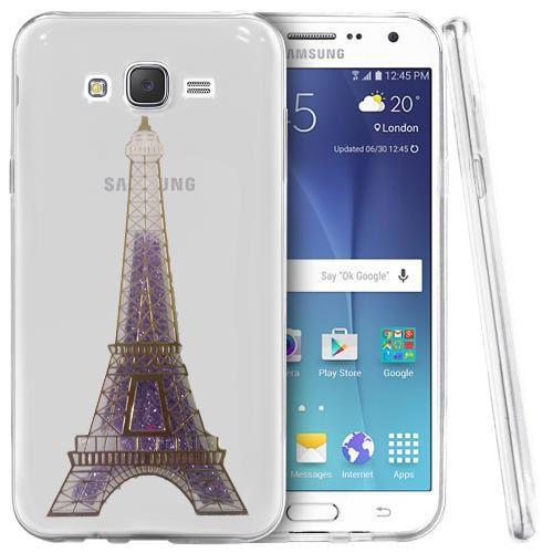 کاور آکواریومی طرح پاریس مناسب برای Samsung Galaxy J7