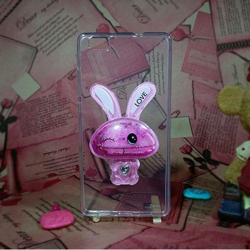 کاور آکواریومی طرح خرگوشی مناسب برای Huawei Ascend P8