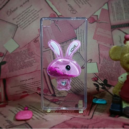 کاور آکواریومی طرح خرگوشی مناسب برای Huawei Ascend P8 Lite