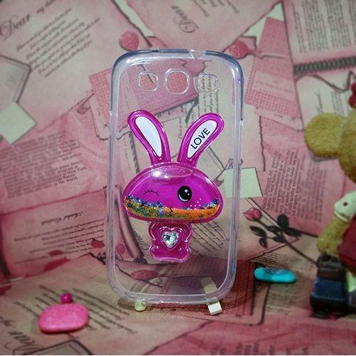 کاور آکواریومی طرح خرگوشی مناسب برای Samsung Galaxy S3