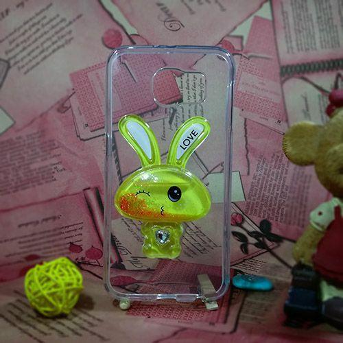 کاور آکواریومی طرح خرگوشی مناسب برای Samsung Galaxy S6