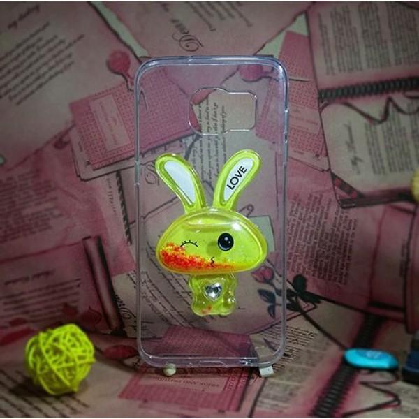 کاور آکواریومی طرح خرگوشی مناسب برای Samsung Galaxy S7 Edge