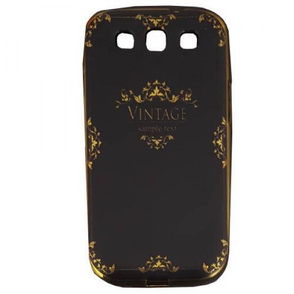 کاور ژله ای طرح دار فشن کیس Samsung Galaxy S3