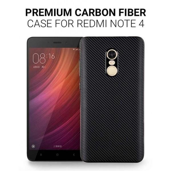 کاور فیبر کربنی مناسب Xiaomi Redmi Note 4