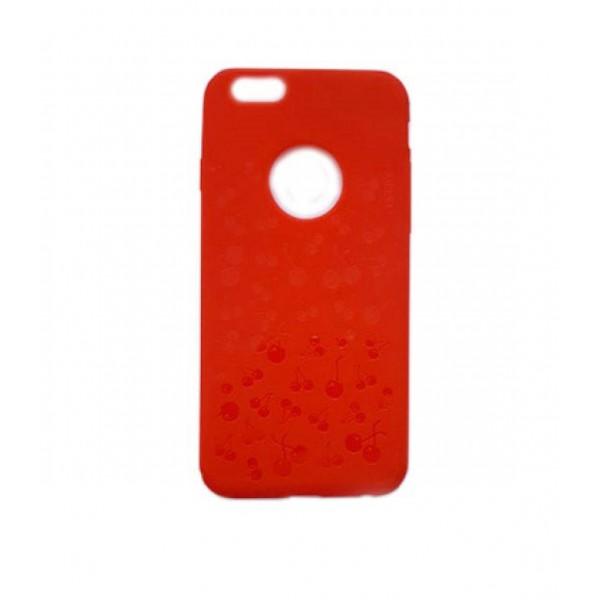 کاور ژله ای رنگی و طرح دار CHERRY مناسب برای Apple iPhone 6-6s