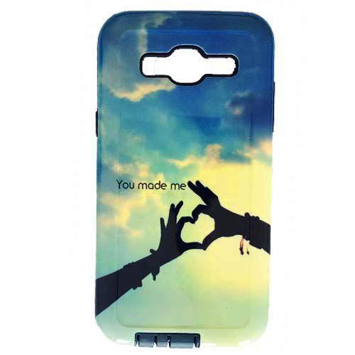 کاور سخت فانتزی مارک راک Rock مناسب برای Samsung Galaxy J5