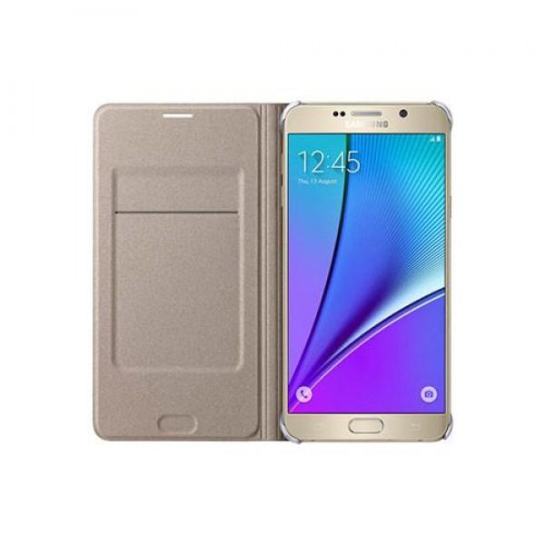 کیف کلاسوری چرمی اصلی Samsung Galaxy Note 5