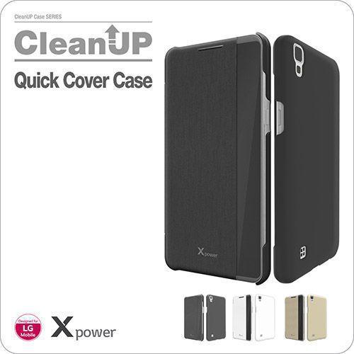کیف کلاسوری اصلی هوشمند مدل CleanUP Quick مناسب LG X Power