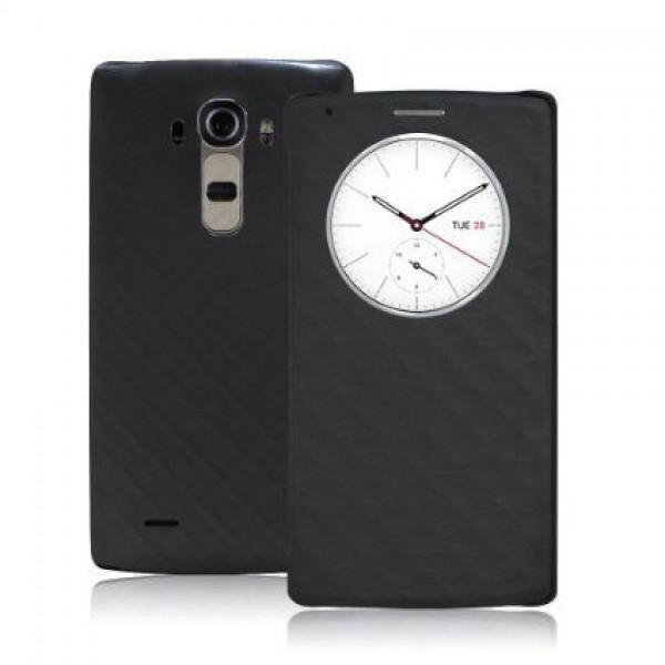 کیف کلاسوری هوشمند مدل Quick Cover مناسب LG G4