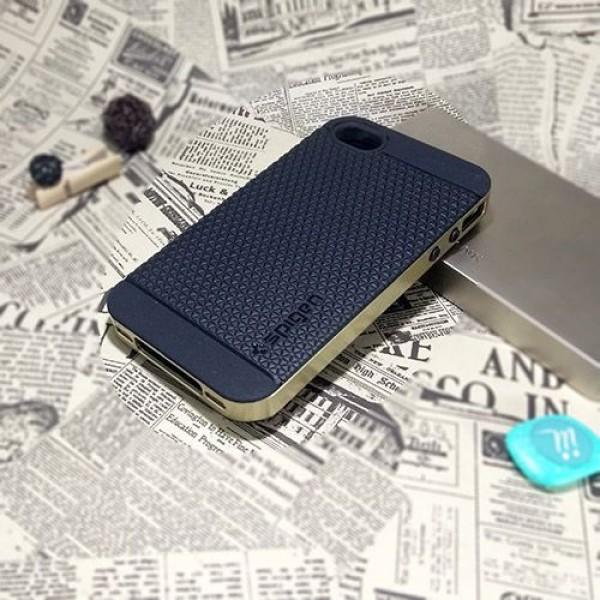 کاور اسپیگن سری Neo Hybrid Carbon مناسب Apple iPhone 4-4S