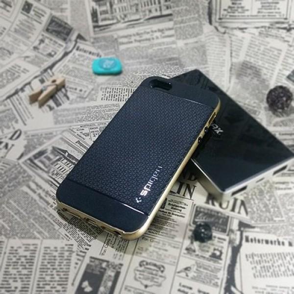 کاور اسپیگن سری Neo Hybrid Carbon مناسب Apple iPhone 5-5S