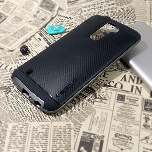 کاور اسپیگن سری Neo Hybrid Carbon مناسب LG K10