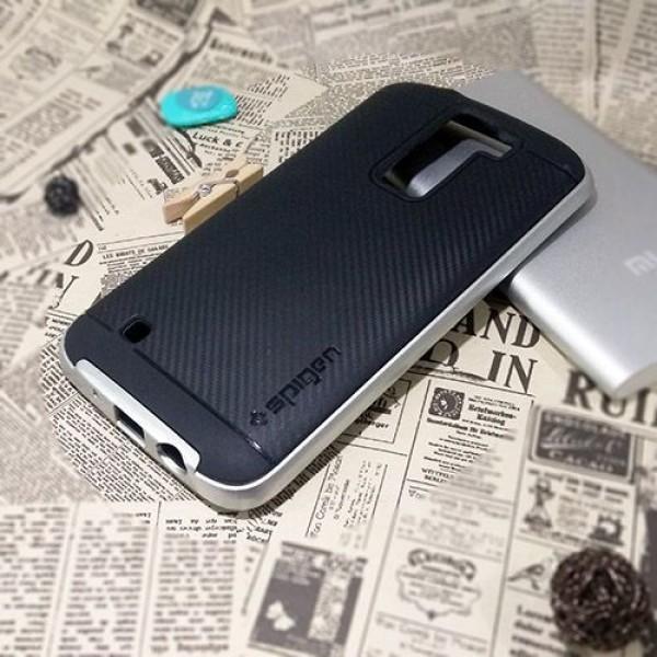 کاور اسپیگن سری Neo Hybrid Carbon مناسب LG K8