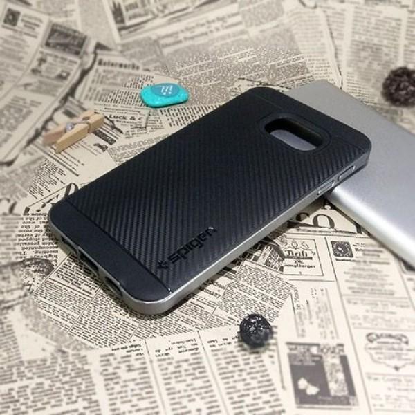 کاور اسپیگن سری Neo Hybrid Carbon مناسب Samsung Galaxy A3 2016