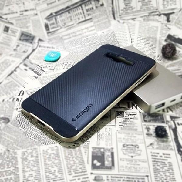 کاور اسپیگن سری Neo Hybrid Carbon مناسب Samsung Galaxy A5
