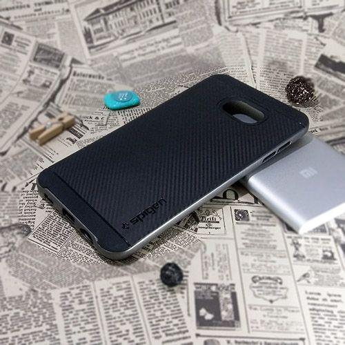 کاور اسپیگن سری Neo Hybrid Carbon مناسب Samsung Galaxy C7