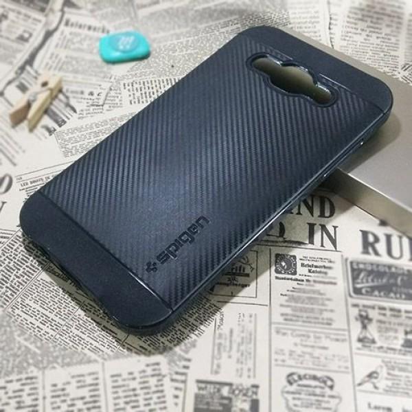 کاور اسپیگن سری Neo Hybrid Carbon مناسب Samsung Galaxy J5