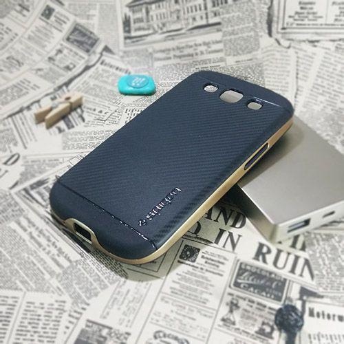 کاور اسپیگن سری Neo Hybrid Carbon مناسب Samsung Galaxy S3