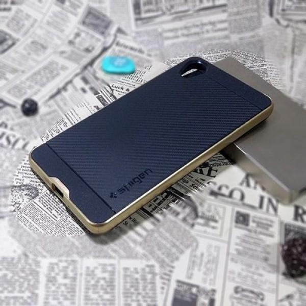 کاور اسپیگن سری Neo Hybrid Carbon مناسب Sony Xperia X