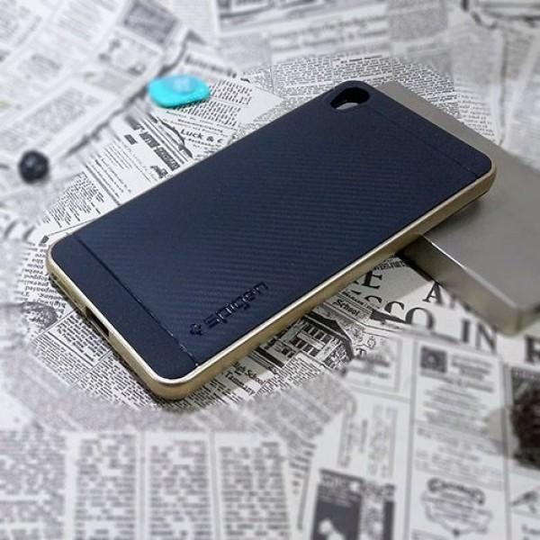 کاور اسپیگن سری Neo Hybrid Carbon مناسب Sony Xperia XA