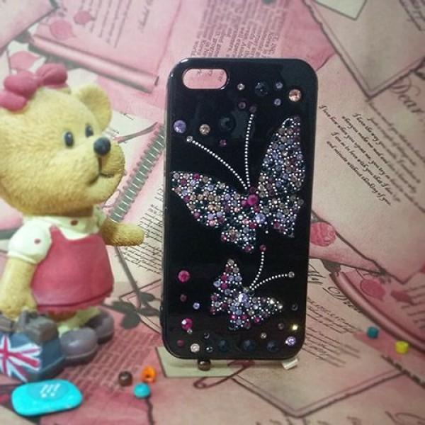 کاور فانتزی نگین دار YOUNICOU مناسب Apple iPhone 5-5s-SE