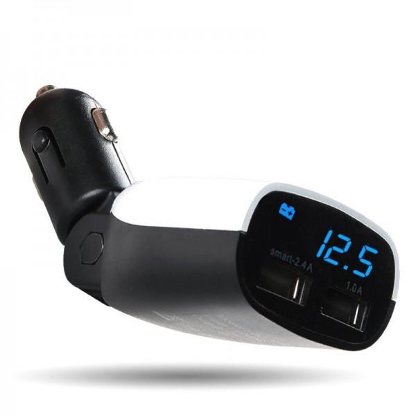 شارژر فندکی با 2 درگاه USB مارک Baseus CC-XS02