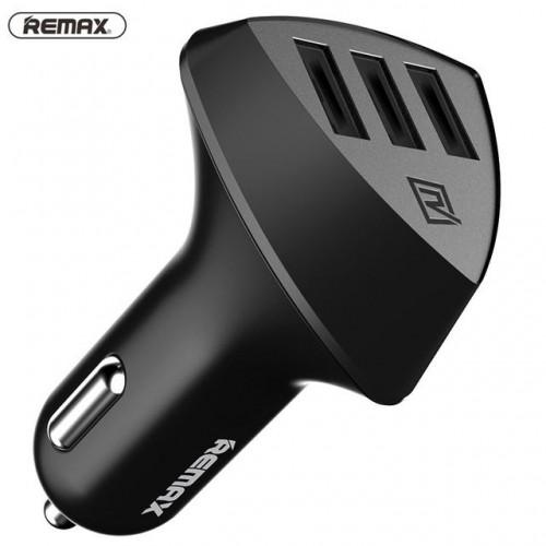 شارژر فندکی 3 پورت Remax RCC304 ریمکس 4.2A