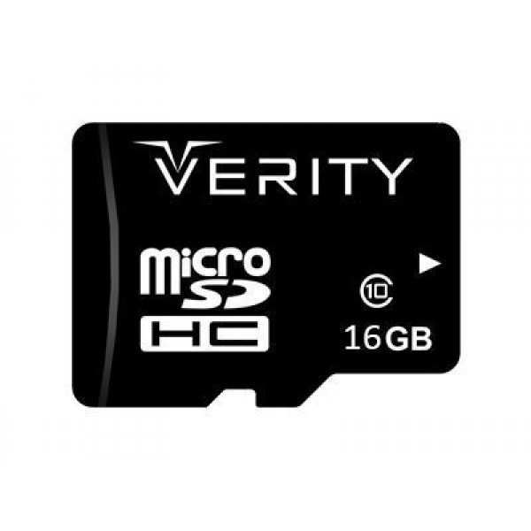 کارت حافظه میکرو اس دی 16 گیگابایت وریتی Verity Class 10 UHS-I