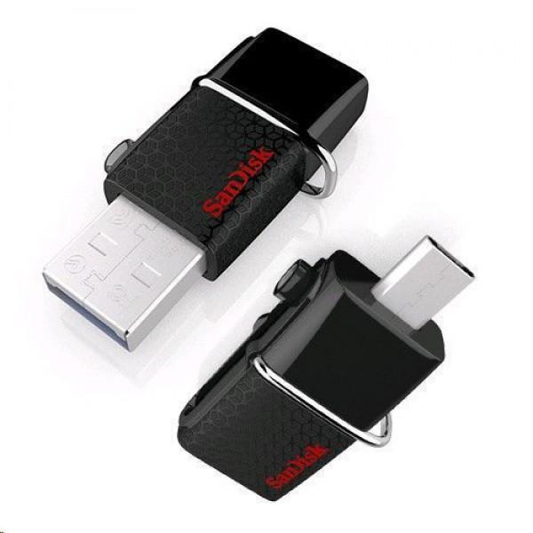 فلش مموری 16 گیگابایت سن دیسک مدل Ultra Dual USB Drive 3.0