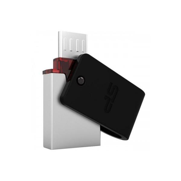 فلش مموری 16 گیگابایت سیلیکون پاور Silicon Power مدل X31 OTG USB 3.0
