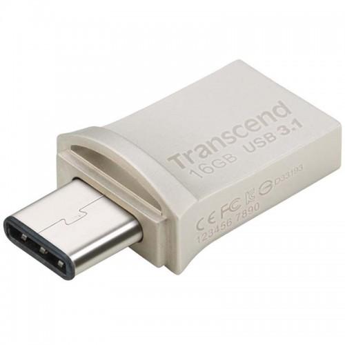 فلش مموری 16 گیگابایت ترنسند مدل JetFlash 890S Type-C USB 3.0
