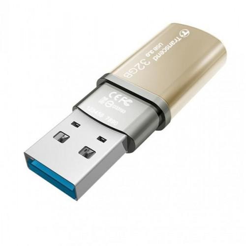 فلش مموری 32 گیگابایت ترنسند Transcend مدل JetFlash 820G USB 3.0