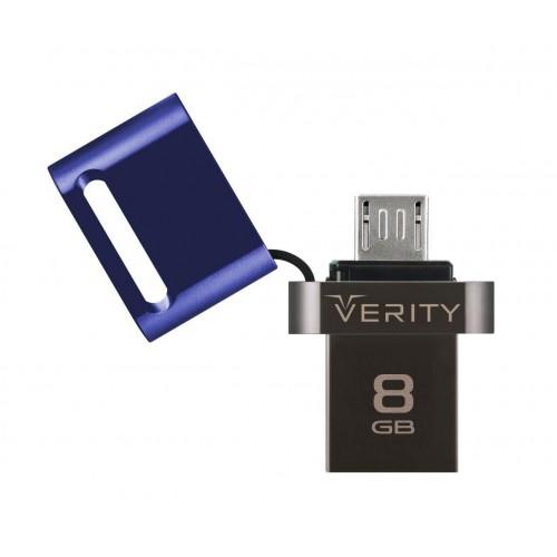 فلش مموری 8 گیگابایت وریتی Verity O503 OTG