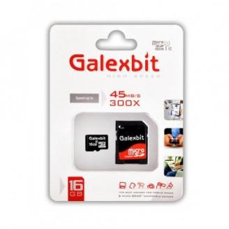 کارت حافظه میکرو اس دی 16 گیگابایت Galexbit 300x UHS-l U1