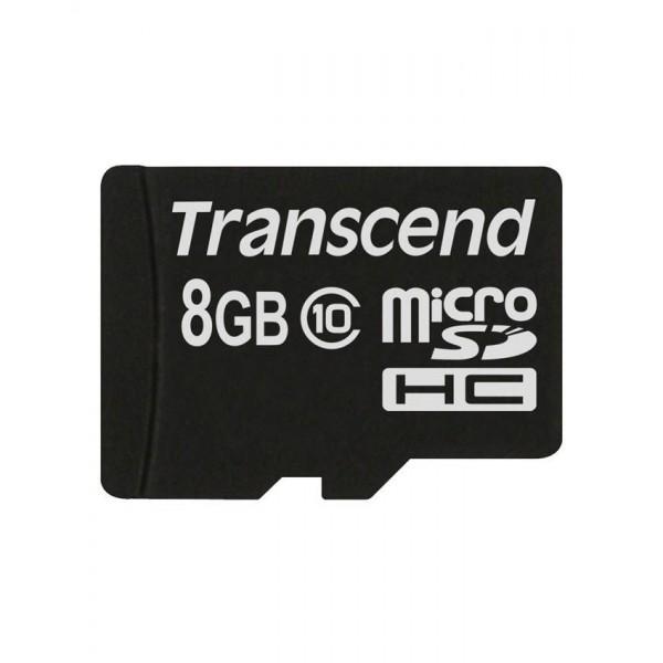 کارت حافظه میکرو اس دی ترنسند 8 گیگابایت Transcend Premium 200x Class 10