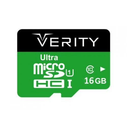 کارت حافظه میکرو اس دی 16 گیگابایت وریتی Verity Ultra 533x UHS-I U1